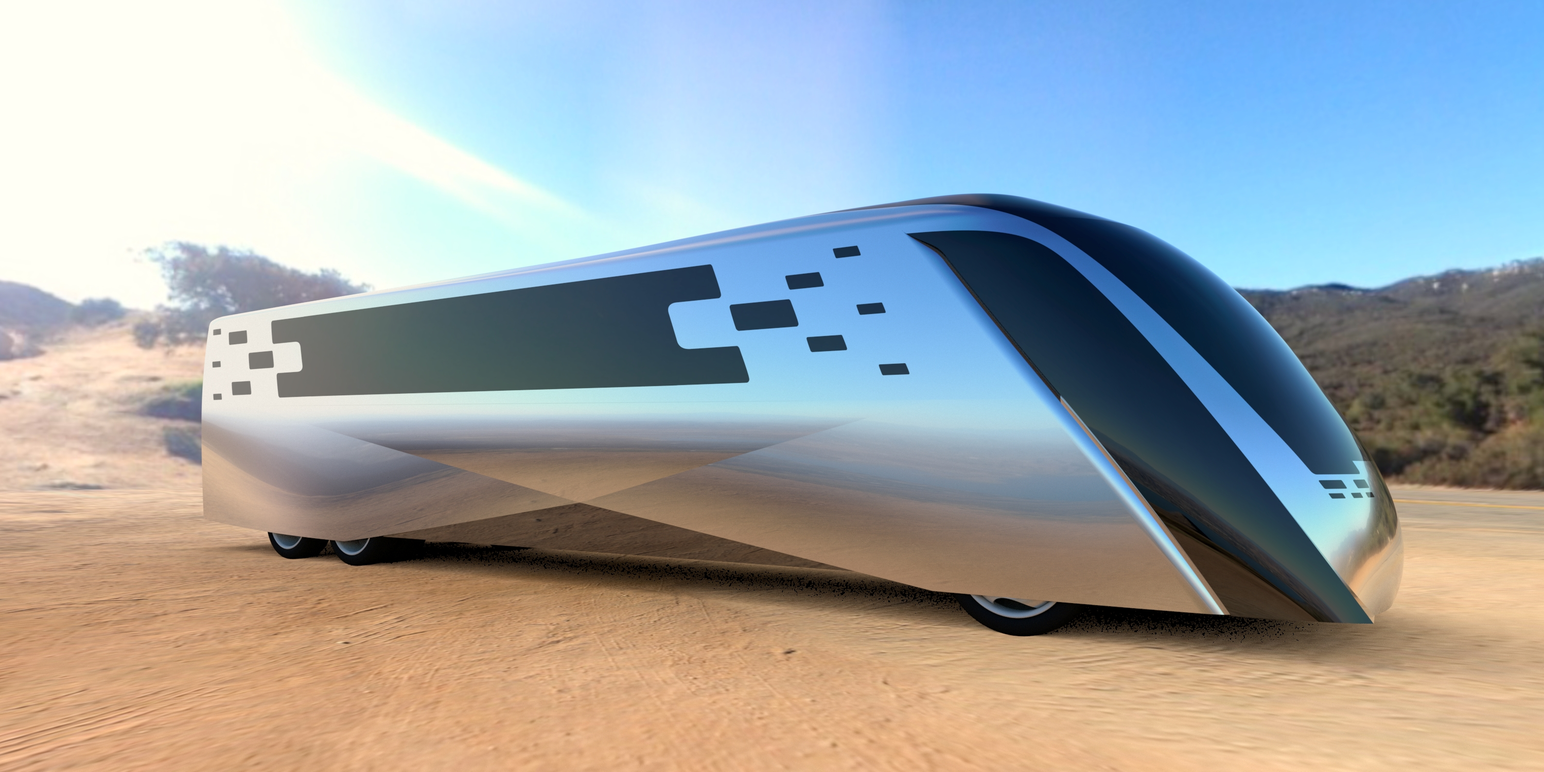 Advanced Clean Touring Bus Concept - Foresee Car Design