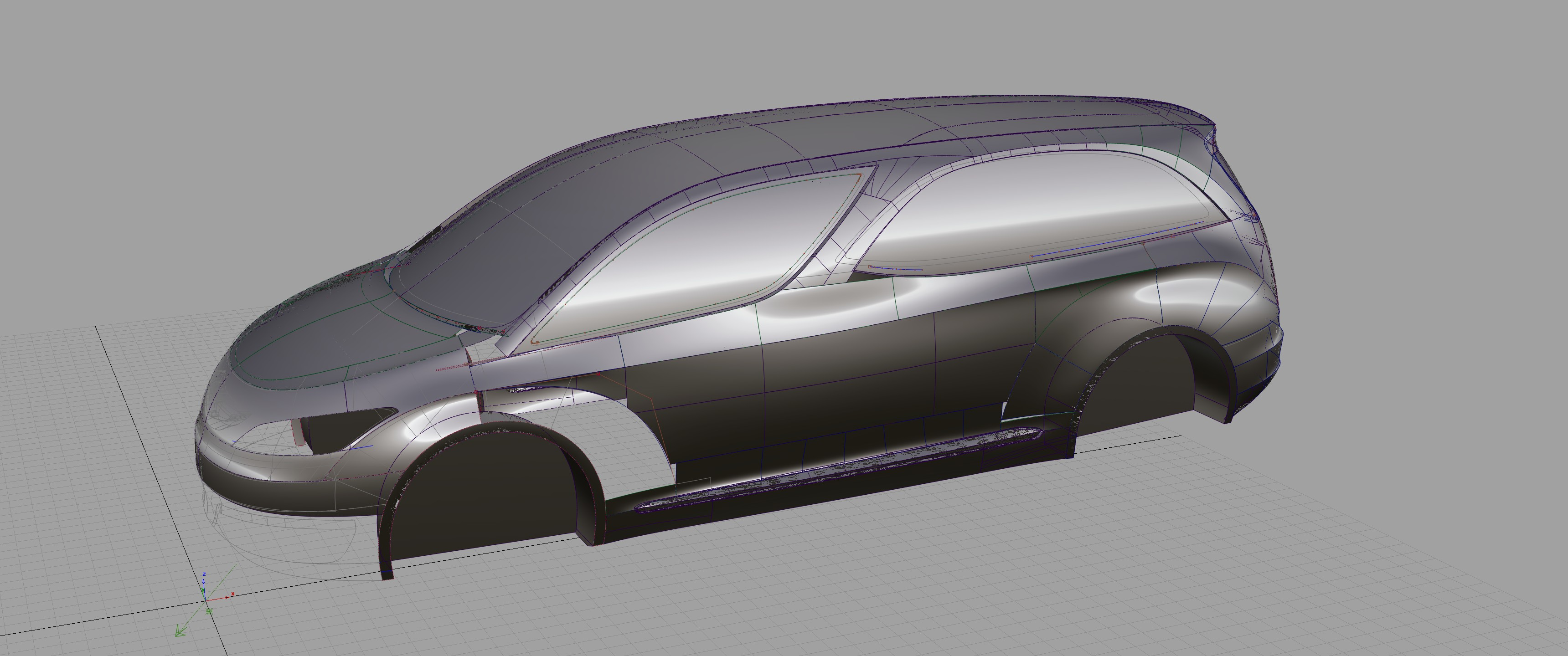 Alias A Class Surfacing Foresee Car Design